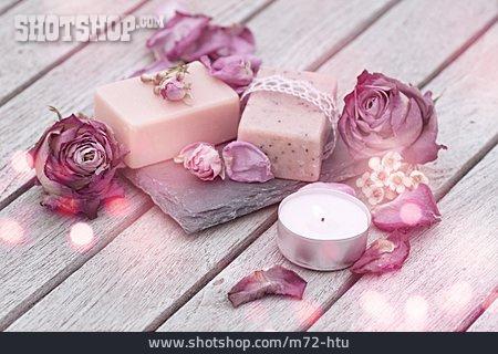 Body Care, Spa, Soap Rose