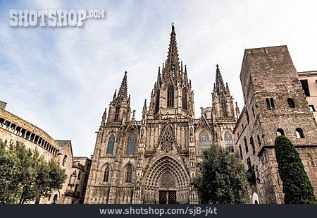 Barri Gòtic, Barcelona Cathedral