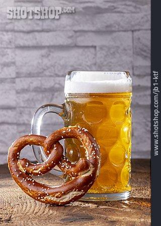 Snack, Pretzel, Beer Stein