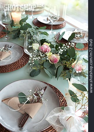 Table Decoration, Table Cover, Place Setting