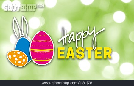 Easter Greeting, Easter Card, Happy Easter