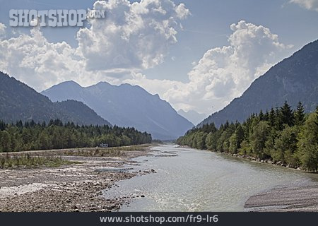 Lech River, Lechtal, Lechtal Alps