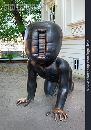 Baby, Bronze Sculpture