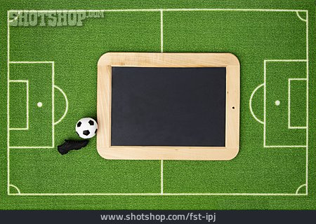 Copy Space, Soccer, Blackboard