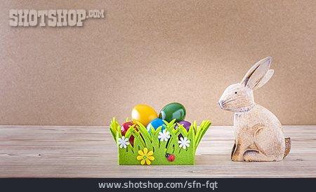 Easter Nest, Easter Bunny, Easter Eggs