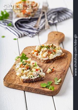 Snack, Fish Dish