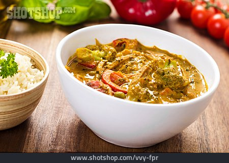 Vegetable Stew, Curry Dish
