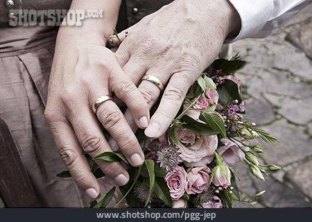 Affection, Wedding Rings, Wedding Couple