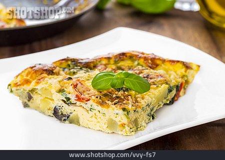 Omelette, Frittata