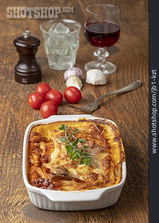 Dinner, Baked Meal, Lasagna