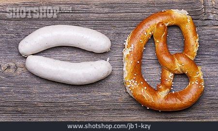 Pretzel, Weisswurst