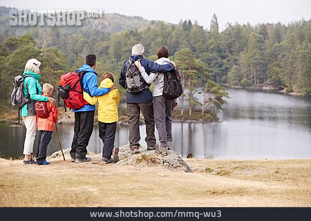 Family, Hiking Vacation, Family Outing