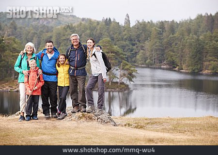 Family, Generations, Hiking Vacation