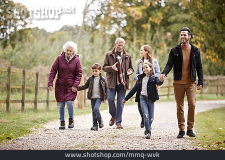 Walk, Family, Family Outing
