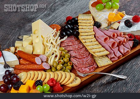 Cold Plate, Cheese Platter, Sausage Platter