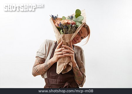 Bouquet, Delivery, Florist