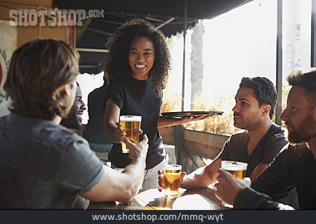 Beer, Waitress, Bar