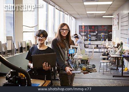 Students, Workshop, Robotics