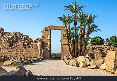 Archaeology, Temples, Karnak Temple