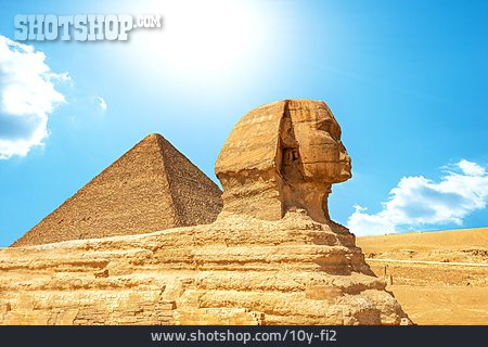 Sphinx, Giza Necropolis