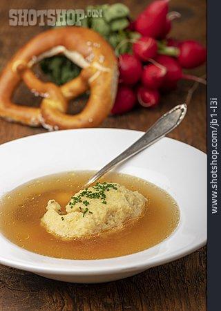 Beef Soup, Semolina Dumpling Soup