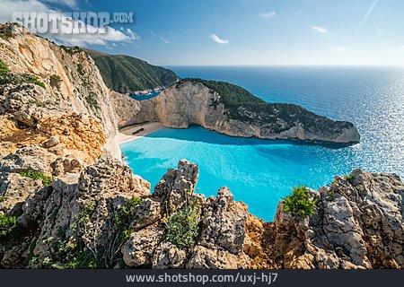 Cliff, Zakynthos, Ionian Islands