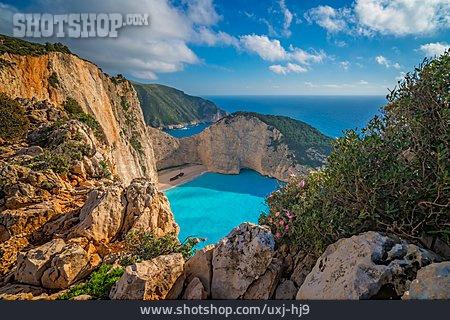 Rocky, Mediterranean Sea, Zakynthos