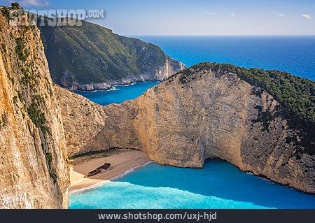 Shipwreck, Bay, Zakynthos