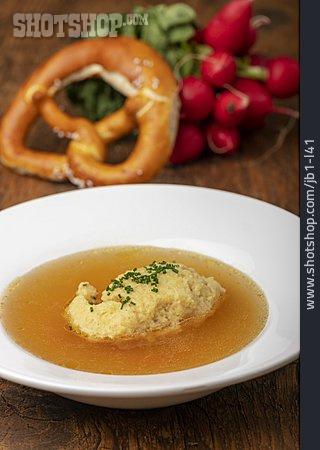 Bavarian Cuisine, Semolina Dumpling Soup