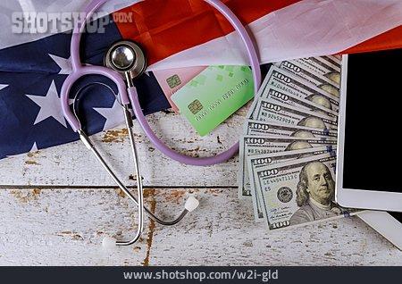 Finance, Health Care, Usa