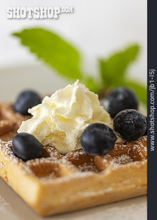 Dessert, Belgian Waffle