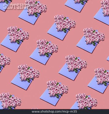 Valentine, Bouquet