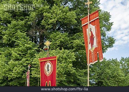 Corpus Christi, Church Flag