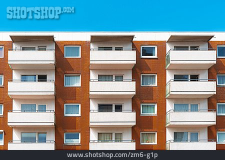 House, Apartment, Tenement Block