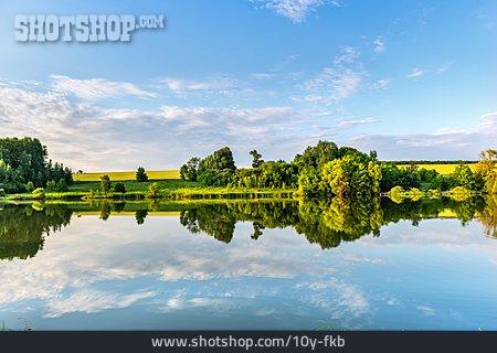 Lake, Water Reflection