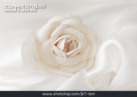 Wedding, Marriage, Fabric Rose