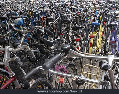 Bicycle, Bicycle Parking