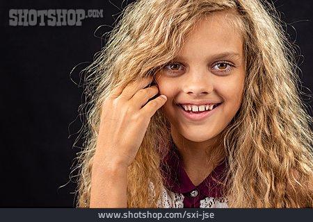 Teenager, Girl, Portrait