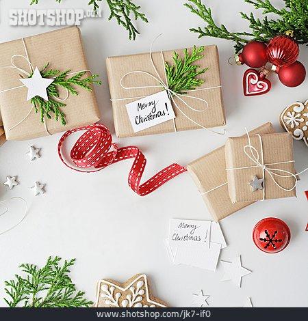 Preparation, Christmas Present, Pack