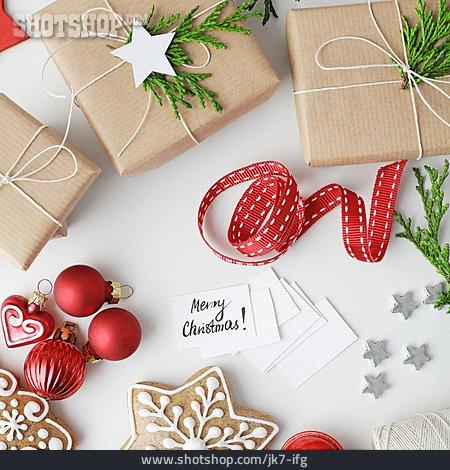 Vehicle Trailer, Christmas Present, Merry Christmas