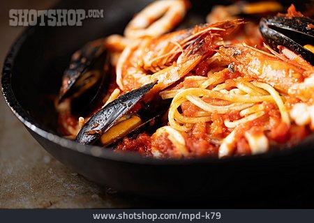 Spaghetti, Seafood