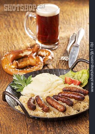 Meal, Nuremberger Hot Dog