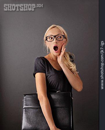 Woman, Surprised