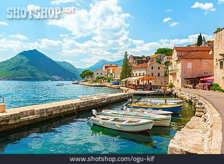 Montenegro, Bay Of Kotor, Perast