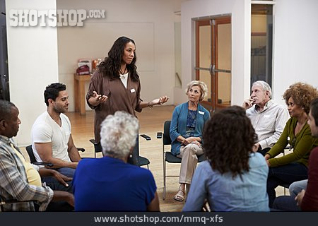 Chair Circle, Support Group, Group Therapy