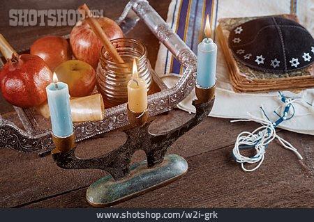 Candlelight, Candlestick, Judaism