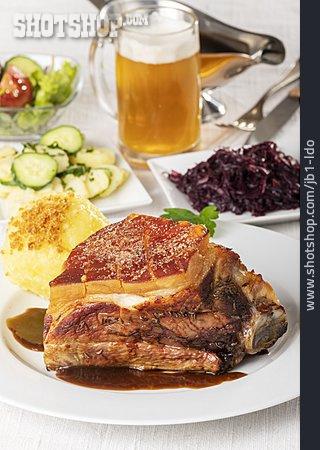 Dinner, Schäufele