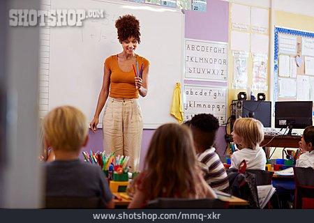 Preschool, Teacher, Writing Learning