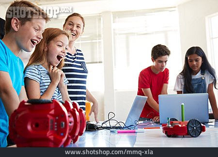Teenager, Joy, Class, Programming