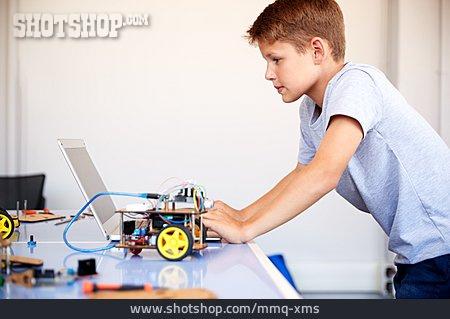 School Children, Robot, Computer Science, Programming